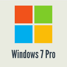 Microsoft Windows 7 Professional / Pro - OEM Produktschlüssel / Key  32 / 64 Bit