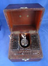 Vintage K & D Inverto Watchmakers Staking Set in Wooden Box