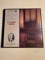 E. Power Biggs The Organ Concertos Of Handel 2 X LP Box Set Columbia 6 Eye M-!!!
