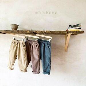 Monbebe Corduroy Trousers