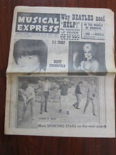 NME July 23 1965 Rolling Stones PJ Proby The Who Roy Orbison Beatles ManfredMann