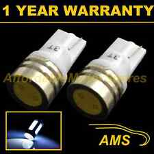 2X W5W T10 501 WHITE HIGH POWER LED SMD SIDE REPEATER INDICATOR BULBS SR100702