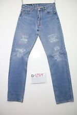 Levi's 501 costumized  jeans usato (Cod.D1289) Tg.44 W30 L34 boyfriends