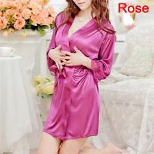 Women Fashion Sexy Lingerie Sleep Dress Nightgown Sexy Robes Pajamas Underwear F