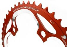 Aerozine 104mm BCD 39t 39 outer Chainring 2x10 RED Alloy MTB Racing  2x11 104