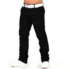 Herren Hose Chinohose Trousers Hose Regular Fit Jeans W29 - W40 Braun Beige Neu