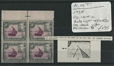 K.U.T. 1938 SG.144a Rope error Block U/M