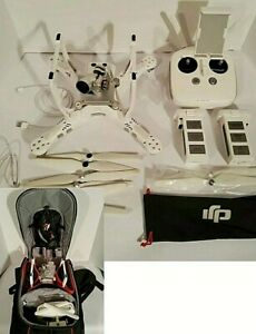 DJI Phantom 3 Advanced Quadcopter Camera Drone - White With Manfrotto Backpack
