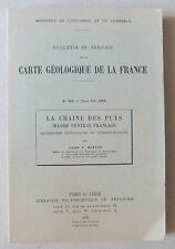 BULLETIN DU SERVICE DE LA CARTE GEOLOGIQUE DE FRANCE - N° 242 TOME LII - 1954 *