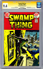 SWAMP THING #7 CGC-SS 9.4 *SIGNED ARTIST BERNIE WRIGHTSON* BATMAN CROSSOVER 1973