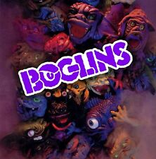 BOGLINS 80's toy monster puppet logo color vinyl decal sticker 1980s Halloween