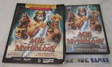 LOT AGE OF MYTHOLOGY + GUIDE STRATEGIQUE PC CD ROM VF (envoi suivi, vendeur pro)