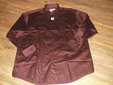 NEW Men's PRONTO UOMO Long Sleeve Button Front Dress Shirt Sz 17 32/33
