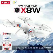 Syma X8W 2.4Ghz 4CH RC Headless FPV (Real Time) Quadcopter w/ Wifi Camera WHITE