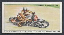 OGDENS-MOTOR RACES 1931-#40- QUALITY CARD!!!