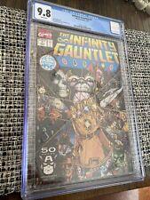 The INFINITY GAUNTLET #1 CGC 9.8 Thanos Mephisto 🔥 🔥 🔥
