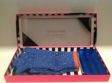 Juicy Couture Texting Gloves and Glitter iPhone Case 4/4S Blue Retails $78.00