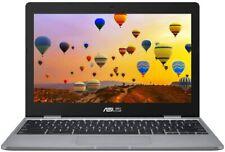 "ASUS Chromebook Laptop Intel Celeron N3350, 4 GB RAM, 32 GB 11.6"" - Grey UK"