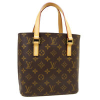 LOUIS VUITTON VAVIN PM HAND TOTE BAG SR0033 PURSE MONOGRAM CANVAS M51172 M15486