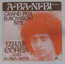 Izhar Cohen & Alpha Beta 45 Tours Eurovision 1978