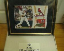 "MARK McGWIRE UD AUTHENTICS UDA AUTOGRAPHS 14"" X 17"" FRAME AUTO #'ed 70 CARDINALS"