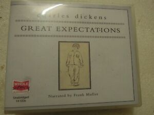 Great Expectations - Charles Dickens Audio Book 14 CD'S.UNABRIDGED.VGC