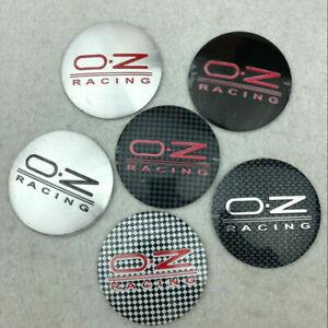 "4x56mm/2.2"" Alloy Logo Emblem Sticker Wheel Center Hubcap for OZ Racing 6 Colors"