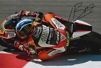 Lorenzo Baldassarri Hand Signed Forward Racing Kalex 12x8 Photo 2015 Moto2 3.
