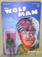 """THE WOLFMAN Universal Monsters ReAction Super7 3.75"""" Figure WOLF MAN"""