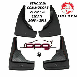Genuine Holden Mudflap / Splash Guard Kit for VE Sedan All SS SSV SV6 Holden F&R