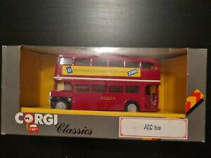 Corgi Classics, AEC Bus, C599/5, Rhondda, Premium Savings Bonds, 100 Merthyr