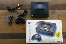 COMPLETE - Sega Saturn Console System Model 1 - Boxed W/ Controller USA Version