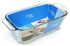 Ultracook Glass Loaf Dish 1.5L with Side Handles. Toughened Glass Oven Dish