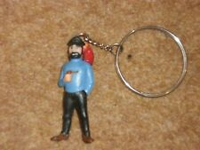 Tintin - Captain Haddock with red parrot - Keyring - 1960s/70s