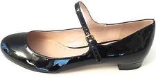 Designer Miu Miu Black Patent Leather Mary Jane Ballerinas Size 35.5 | US 5.5