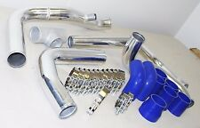 For 1992-2001 Honda Prelude H22 H23 Turbo Intercooler Piping Kits Clamps Silicon