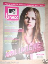 Avril Lavigne THAI Mtv Trax#1 Magazine 2003 Madonna Suede Kelly Osbourne Eminem