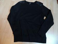 Sweatshirt Gr. M schwarz -neuwertig-