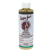 Sarcoptic Mange Medicine Topical Treatment For Dogs, Healing, Hair Growth, 8 oz