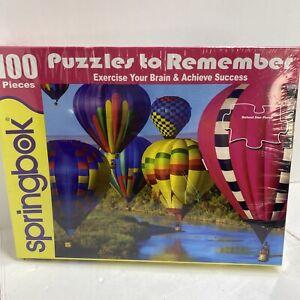 NEW Springbok 100 Piece Jigsaw Puzzle Take Flight FACTORY SEALED. E3