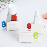 Saving Reusable Bath Plastic Toothpaste Squeezer Rolling Tube Toothbrush Holder