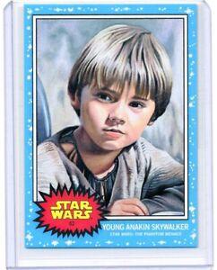 2019 Topps Star Wars Living Set Card 62 Young Anakin Skywalker ~ Phantom Menace