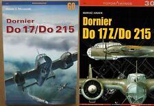 Set of Dornier Do 17/Do 215 - Kagero Monograph + Topdrawings ENGLISH
