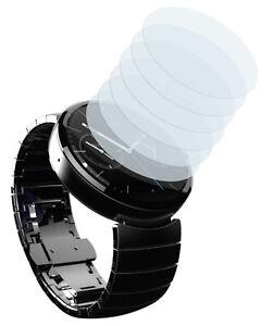 mumbi 6x Folie für Motorola Moto 360 Schutzfolie klar Displayschutz Displayfolie