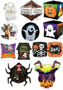 Halloween Foil Helium Air Balloons Party Ware Decoration Ghost Frankenstein Cat