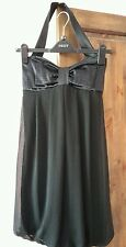 Rare London party dress size 8. Halterneck. Big bow front. Great condition.
