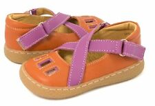 New LIVIE & LUCA Shoes sandals Luz Orange Purple 12 HTF!