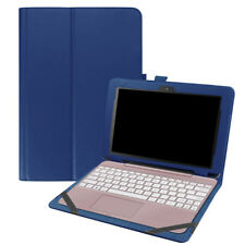 "Fr Asus Transformer BooK T101HA 10.1"" Smart PU Leather Folio Case Keyboard Cover"