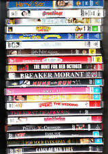 20 BULK DVD'S=COMEDY-DRAMA=THRILLER=REGION 4 AUSTRALIAN RELEASE=LIKE NEW.=SET C