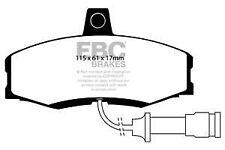 DP455 EBC ULTIMA Pastillas de Freno Frontales Para Ford Sierra